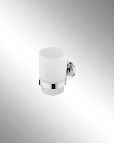 Portavasos de Cristal Translúcido Round
