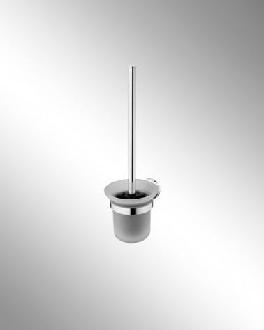 Escobillero cristal translúcido Round