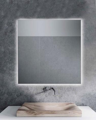 Espejo de baño Khan Liso