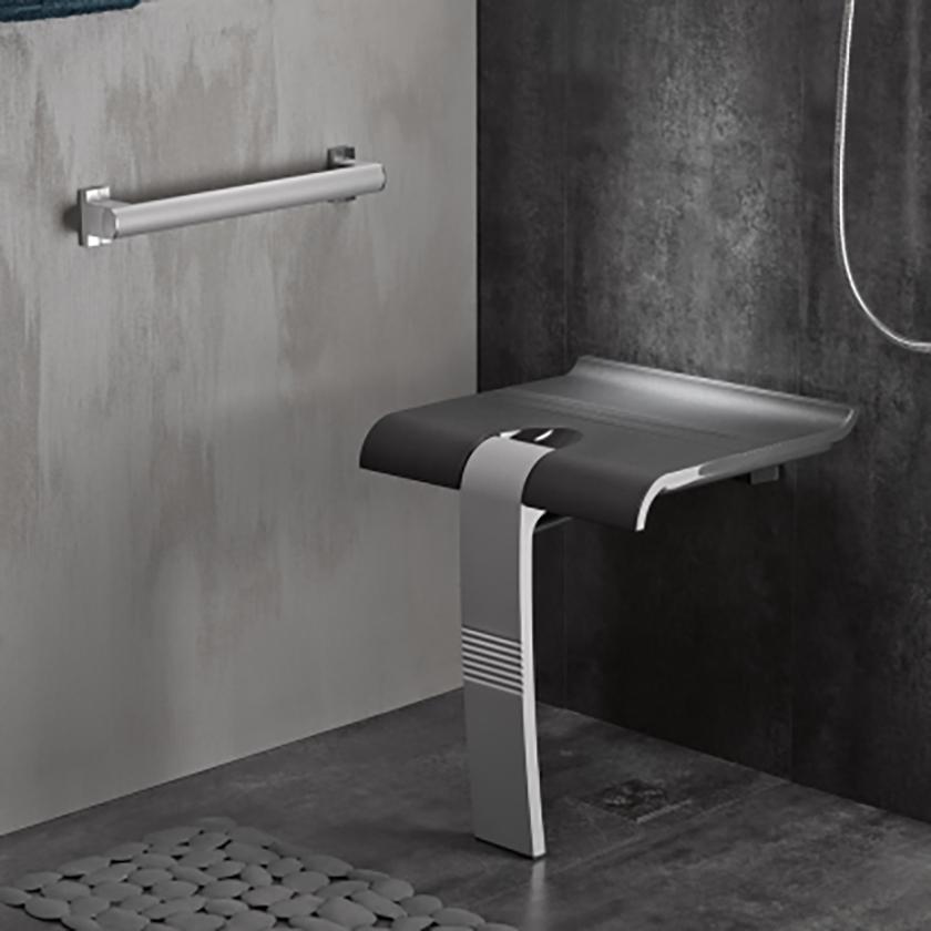 asiento de ducha plegable