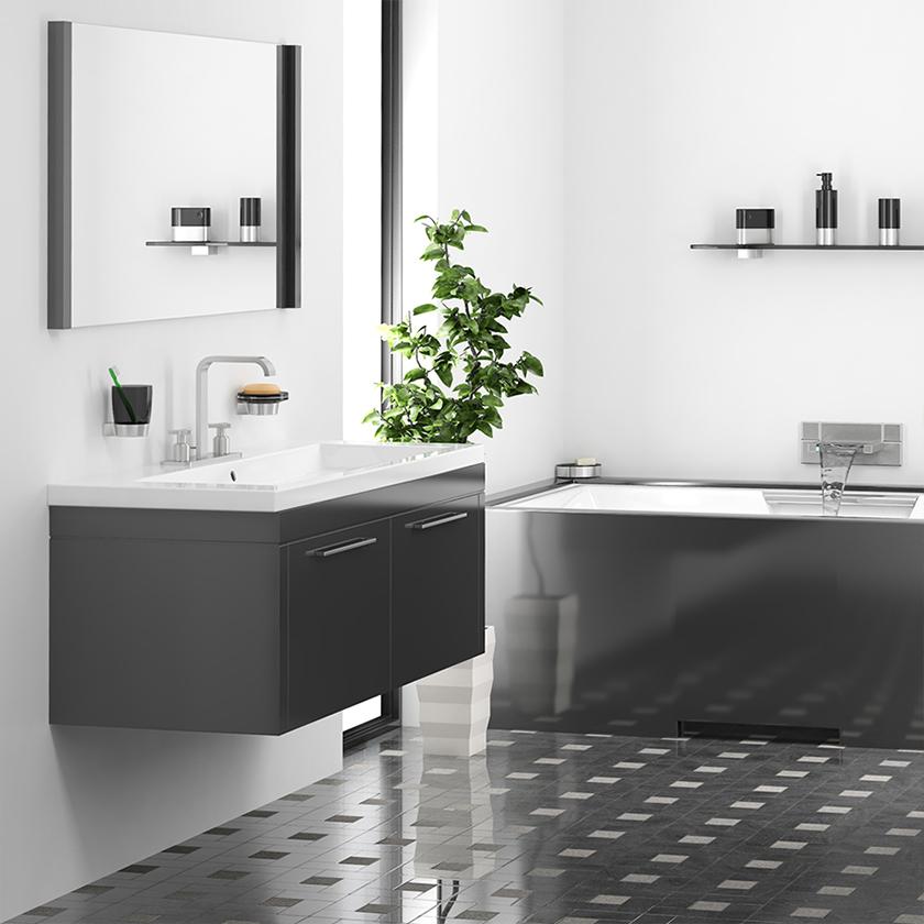 muebles flotantes de baño