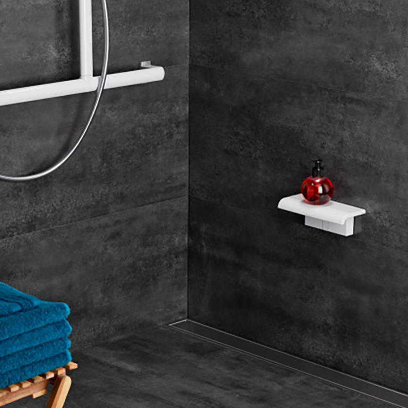 Repisa de ducha