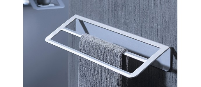 Ahorrar espacio en tu baño es posible con estos 5 toalleros