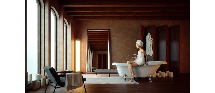 7 ideas para la decoración de baños con velas