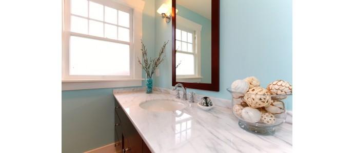 4 ideas de decoración para baños pequeños